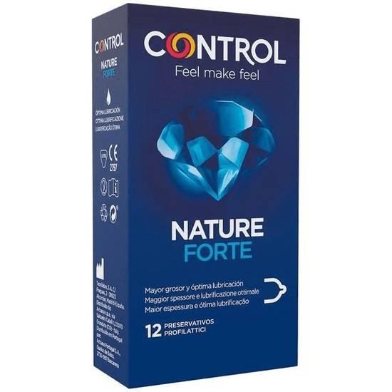 PRESERVATIVOS CONTROL NATURE FORTE 12UDS - Cosmética Erótica Preservativos Natural - Sex Shop ARTICULOS EROTICOS