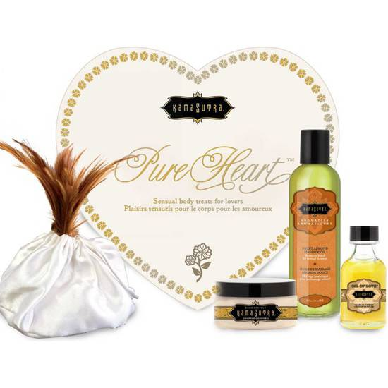 KAMASUTRA PURE HEART KIT - Cosmética Erótica kit - Sex Shop ARTICULOS EROTICOS
