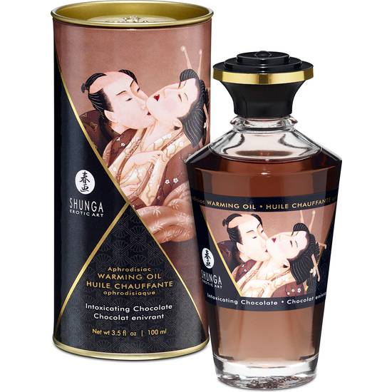 ACEITE EFECTO CALOR CHOCOLATE 100ML - Cosmética Erótica con sabores - Sex Shop ARTICULOS EROTICOS