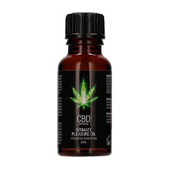 CBD ACEITE DE PLACER ÍNTIMO CANNABIS - 20ML - Cosmetica Erótica Aceites Aromáticos - Sex Shop ARTICULOS EROTICOS