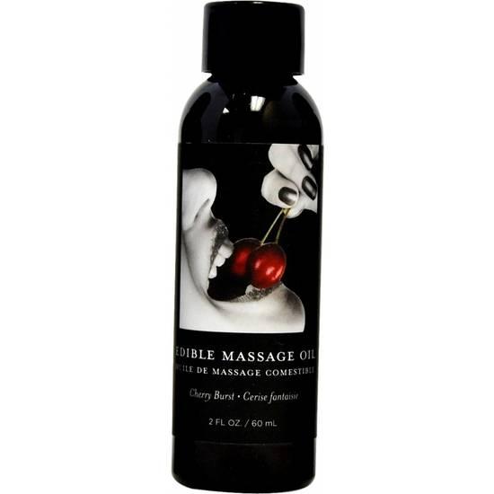 CEREZA - ACEITE DE MASAJE - 60ML - Cosmética Erótica Cremas Masaje - Sex Shop ARTICULOS EROTICOS