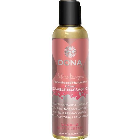 DONA ACEITE DE MASAJE VAINILLA 120 ML - Cosmetica Erótica Aceites Aromáticos - Sex Shop ARTICULOS EROTICOS