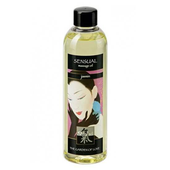 SHIATSU ACEITE AFRODISIACO DE MASAJE DE JAZMIN - Cosmetica Erótica Aceites Aromáticos - Sex Shop ARTICULOS EROTICOS