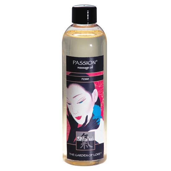 SHIATSU ACEITE AFRODISIACO DE MASAJE DE ROSAS - Cosmetica Erótica Aceites Aromáticos - Sex Shop ARTICULOS EROTICOS