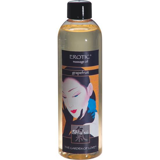 SHIATSU ACEITE AFRODISIACO DE MASAJE DE UVAS - Cosmetica Erótica Aceites Aromáticos - Sex Shop ARTICULOS EROTICOS