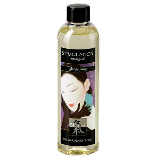 SHIATSU ACEITE AFRODISIACO DE MASAJE DE YLANG YLANG - Cosmetica Erótica Aceites Aromáticos - Sex Shop ARTICULOS EROTICOS