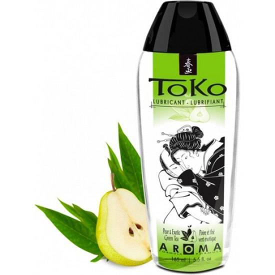 SHUNGA TOKO AROMA LUBRICANTE PERA Y TÉ VERDE EXÓTICO - Cosmetica Erótica Aceites Aromáticos - Sex Shop ARTICULOS EROTICOS