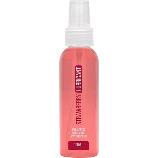 STRAWBERRY LUBRICANTE 100ML - Cosmética Erótica con sabores - Sex Shop ARTICULOS EROTICOS