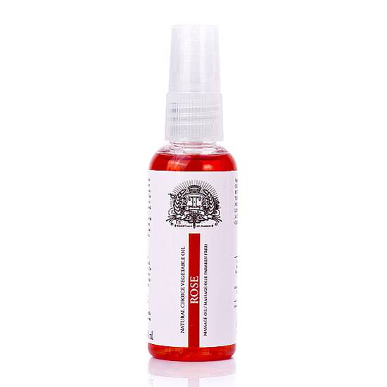 TOUCHE MASSAGE OIL ROSA 50 ML - Cosmetica Erótica Aceites Aromáticos - Sex Shop ARTICULOS EROTICOS