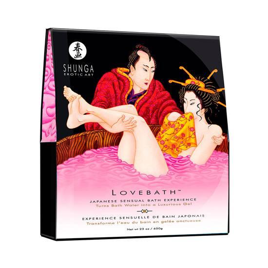 SHUNGA LOVEBATH FRUTA DEL DRAGON - Afrodisiácos Sales de Baño - Sex Shop ARTICULOS EROTICOS
