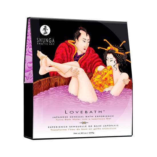 SHUNGA LOVEBATH LOTUS SENSUAL - Afrodisiácos Sales de Baño - Sex Shop ARTICULOS EROTICOS