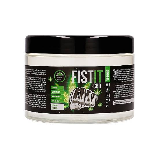 CBD FIST IT - 500ML - Lubricantes Anales Cosmetica Erótica - Sex Shop ARTICULOS EROTICOS