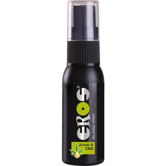 EROS SPRAY RELAJANTE JOJOBA Y CBD 30ML - Lubricantes Anales Cosmetica Erótica - Sex Shop ARTICULOS EROTICOS