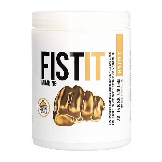 FIST IT - NUMBING - 1000ML - Cosmética Erótica con Base de Agua - Sex Shop ARTICULOS EROTICOS