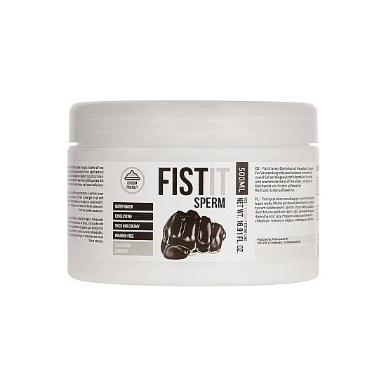 FIST IT SPERM - LUBRICANTE ANAL 500ML - Lubricantes Anales Cosmetica Erótica - Sex Shop ARTICULOS EROTICOS