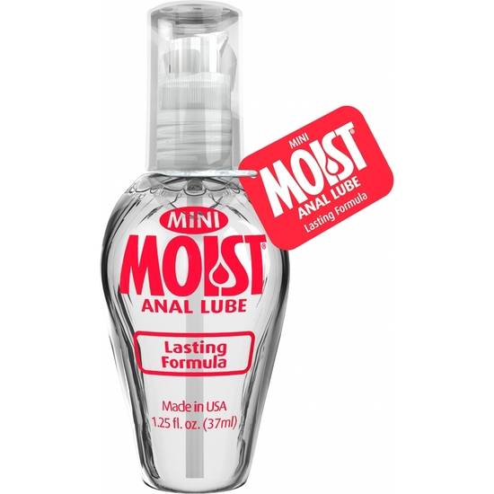 MOIST - MINI LUBRICANTE ANAL BASE AGUA , 37 ML - Lubricantes Anales Cosmetica Erótica - Sex Shop ARTICULOS EROTICOS
