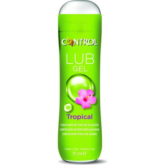 CONTROL LUBRICANTE TROPICAL 75ML - Cosmetica Erótica Aceites Aromáticos - Sex Shop ARTICULOS EROTICOS