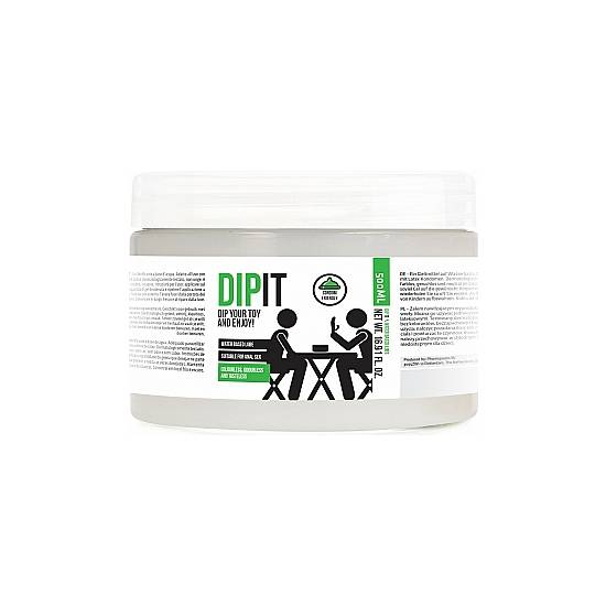 DIP IT - DIP YOUR TOY AND ENJOY - LUBRICANTE BASE AGUA 500ML - Cosmética Erótica con Base de Agua - Sex Shop ARTICULOS EROTICOS