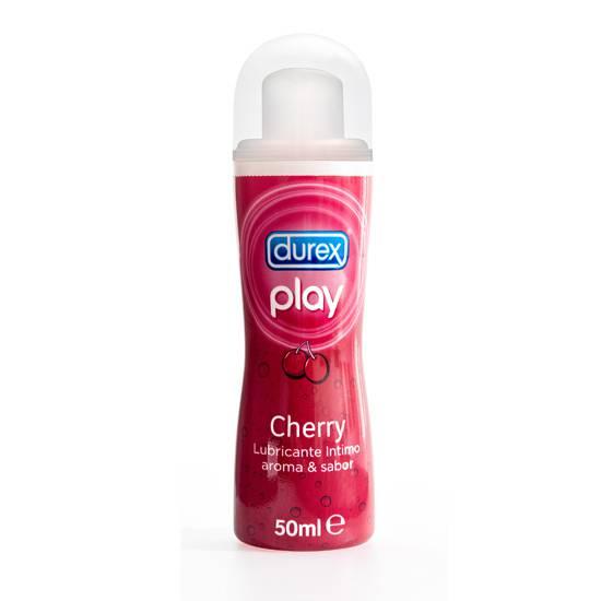 DUREX PLAY CEREZA 50ML - Cosmética Erótica con sabores - Sex Shop ARTICULOS EROTICOS