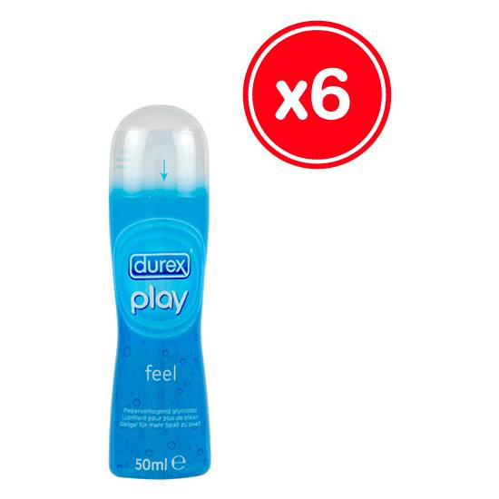 DUREX PLAY FEEL 50 ML (6 UDS) - Cosmética Erótica Natural - Sex Shop ARTICULOS EROTICOS