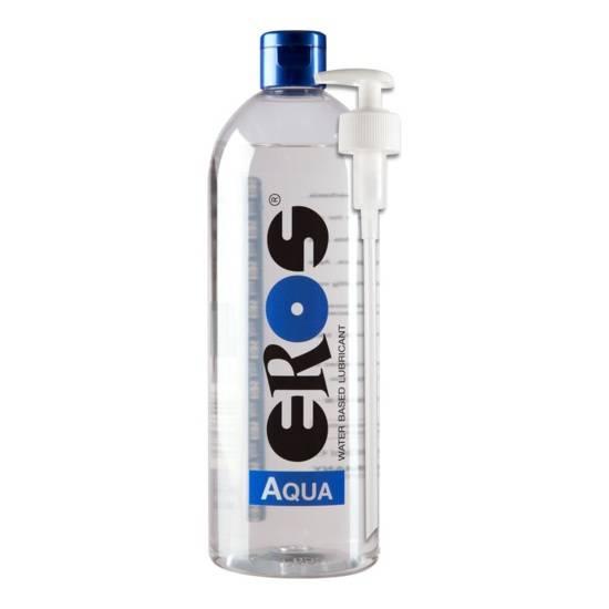 EROS AQUA LUBRICANTE BASE AGUA 1000 ML - Cosmética Erótica con Base de Agua - Sex Shop ARTICULOS EROTICOS