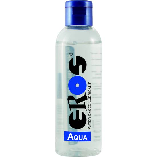 EROS AQUA WATER BASED LUBRICANT FLASCHE 100 ML - Cosmética Erótica con Base de Agua - Sex Shop ARTICULOS EROTICOS