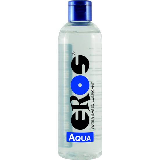 EROS AQUA WATER BASED LUBRICANT FLASCHE 250 ML - Cosmética Erótica con Base de Agua - Sex Shop ARTICULOS EROTICOS
