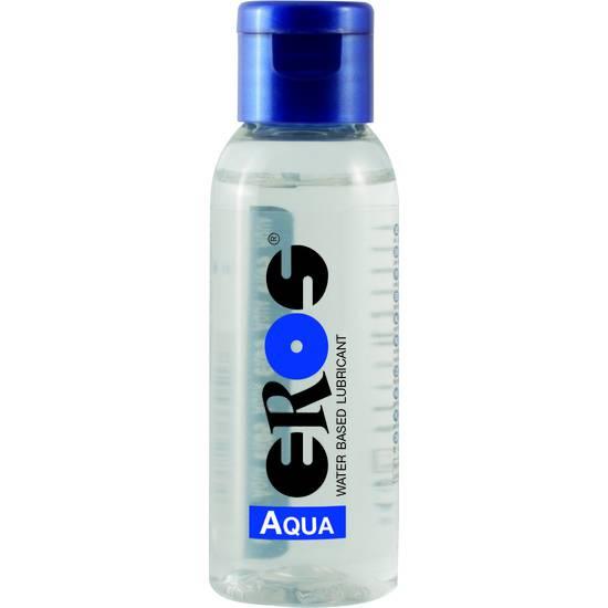 EROS AQUA WATER BASED LUBRICANT FLASCHE 50 ML - Cosmética Erótica con Base de Agua - Sex Shop ARTICULOS EROTICOS