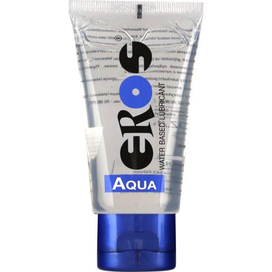 EROS AQUA WB LUBRICANT 50ML - Cosmética Erótica con Base de Agua - Sex Shop ARTICULOS EROTICOS