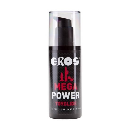 EROS MEGA POWER TOYGLIDE 125 ML - Cosmética Erótica con Base de Silicona - Sex Shop ARTICULOS EROTICOS