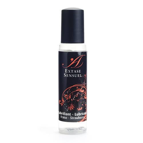EXTASE SENSUEL LUBRICANTE FRESA DE VIAJE - Cosmetica Erótica Aceites Aromáticos - Sex Shop ARTICULOS EROTICOS