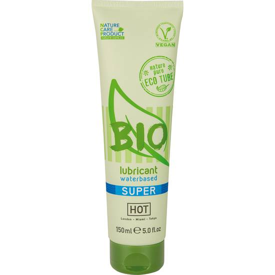 HOT BIO LUBRICANTE SUPER 150 ML - Cosmética Erótica con Base de Agua - Sex Shop ARTICULOS EROTICOS