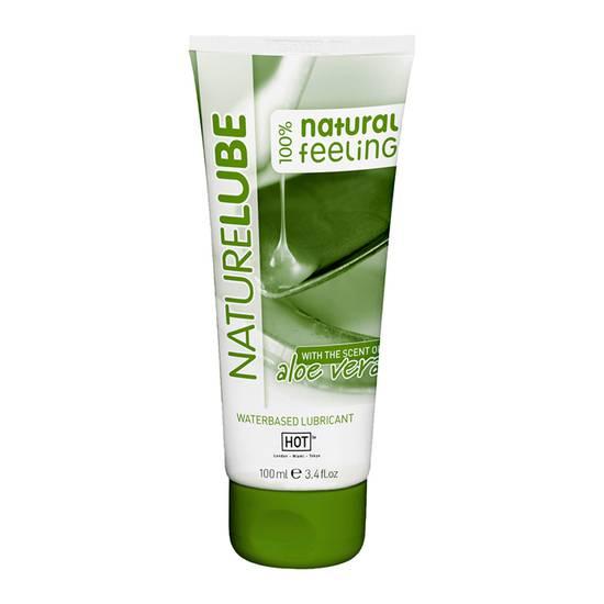 HOT NATURE LUBRICANTE ALOEVERA 100 ML - Cosmetica Erótica Aceites Aromáticos - Sex Shop ARTICULOS EROTICOS