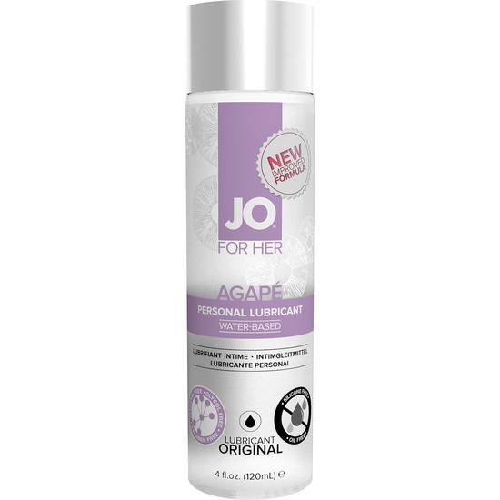 JO AGAPE LUBRICANTE ORIGINAL 120 ML - Cosmética Erótica Natural - Sex Shop ARTICULOS EROTICOS