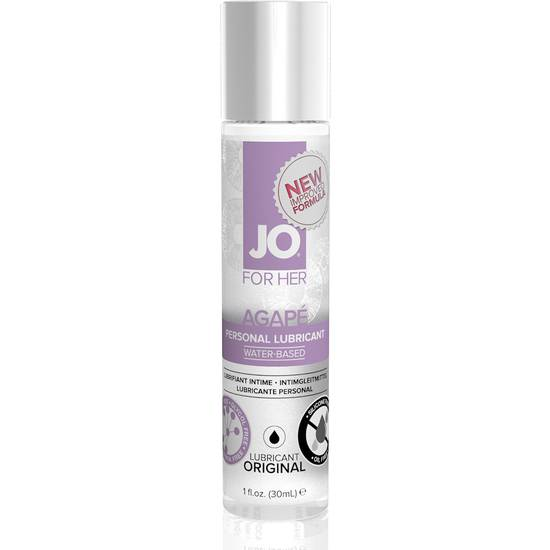 JO FOR WOMEN LUBRICANTE AGAPE 30 ML - Cosmética Erótica Natural - Sex Shop ARTICULOS EROTICOS