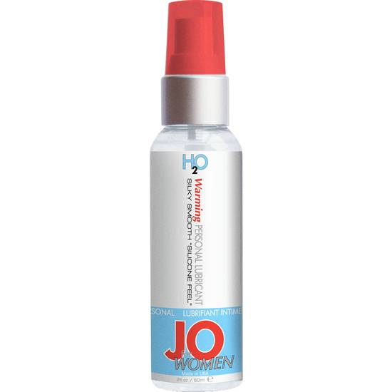 JO FOR WOMEN LUBRICANTE H20 EFECTO CALOR 60 ML - Cosmética Erótica con Efecto Calor - Sex Shop ARTICULOS EROTICOS