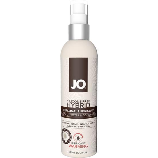JO LUBRICANTE AGUA EFECTO CALOR COCO 120 ML - Cosmetica Erótica Aceites Aromáticos - Sex Shop ARTICULOS EROTICOS