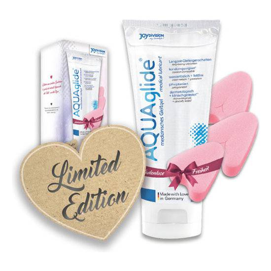 LOVE BUNDLE - KIT EXCLUSIVO AQUAGLIDE 200ML + 3 SOFT-TAMPONS - Cosmética Erótica kit - Sex Shop ARTICULOS EROTICOS