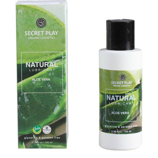 LUBRICANTE ORGÁNICO NATURAL 100ml - Cosmética Erótica Natural - Sex Shop ARTICULOS EROTICOS