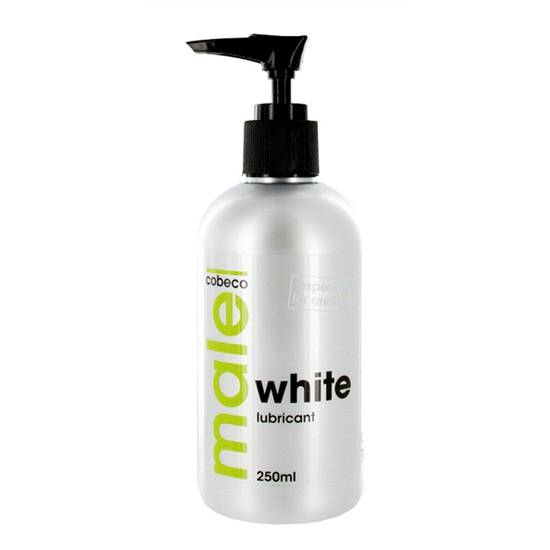 MALE LUBRICANTE BLANCO 250 ML - Cosmética Erótica Natural - Sex Shop ARTICULOS EROTICOS