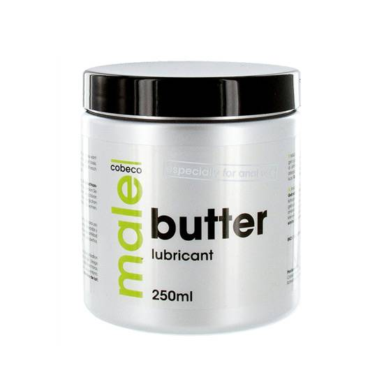 MALE LUBRICANTE BUTTER 250 ML - Cosmética Erótica Natural - Sex Shop ARTICULOS EROTICOS