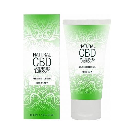 NATURAL CBD LUBRICANTE 50 ML - Cosmética Erótica con Base de Agua - Sex Shop ARTICULOS EROTICOS