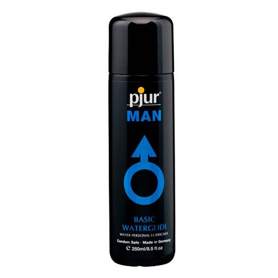 PJUR MAN BASIC LUBRICANTE BASE AGUA 250 ML | ACEITES Y LUBRICANTES LUBRICANTES | Sex Shop