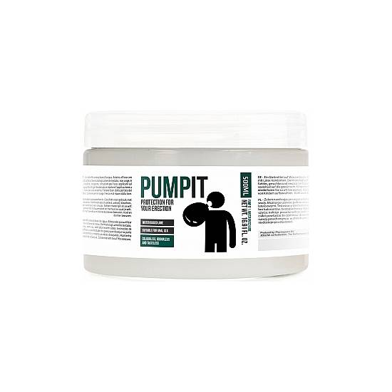 PUMP IT - PROTECTION FOR YOUR ERECTION - LUBRICANTE 500ML - Cosmética Erótica con Base de Agua - Sex Shop ARTICULOS EROTICOS