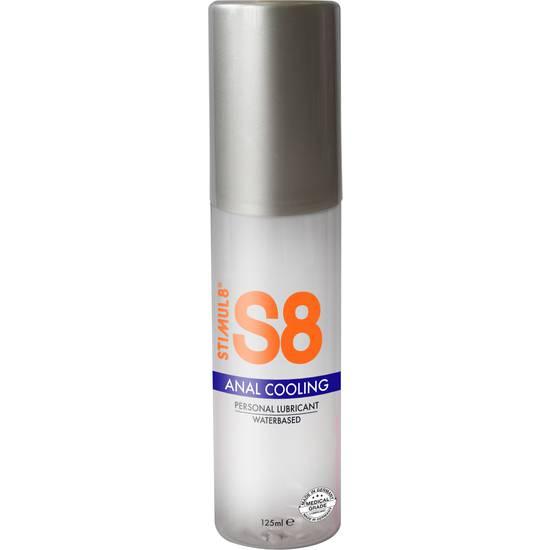 S8 LUBRICANTE ANAL BASE DE AGUA EFECTO FRÍO 125ML - Lubricantes Anales Cosmetica Erótica - Sex Shop ARTICULOS EROTICOS