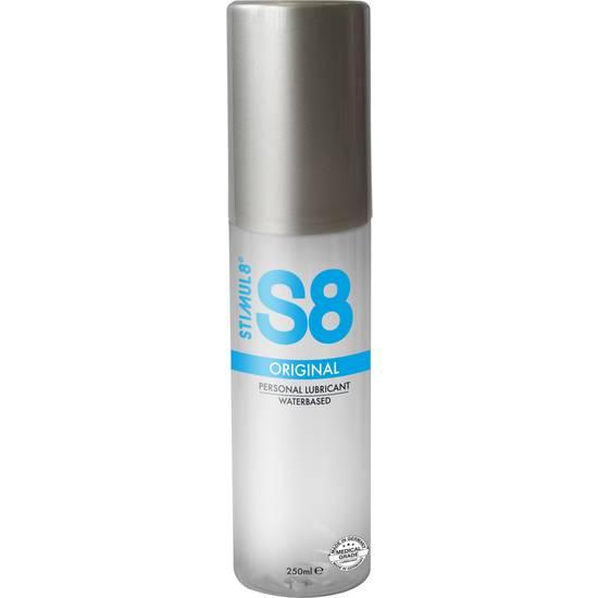 S8 LUBRICANTE BASE DE AGUA 250ML - Cosmética Erótica con Base de Agua - Sex Shop ARTICULOS EROTICOS