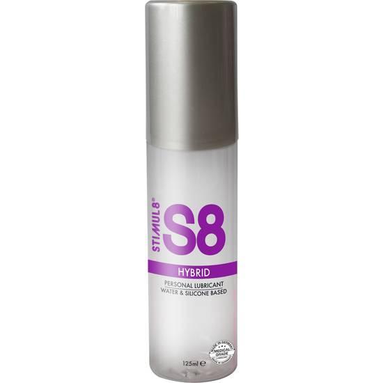 S8 LUBRICANTE HIBRIDO 125ML - Cosmética Erótica con Base de Agua - Sex Shop ARTICULOS EROTICOS