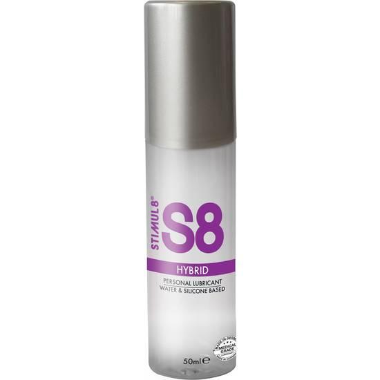 S8 LUBRICANTE HIBRIDO 50ML - Cosmética Erótica con Base de Agua - Sex Shop ARTICULOS EROTICOS