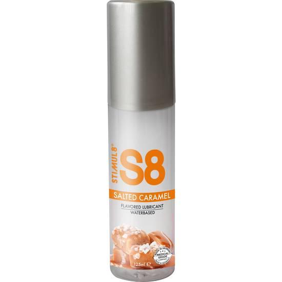 S8 LUBRICANTE SABORES 125ML - CARAMELO - Cosmética Erótica con sabores - Sex Shop ARTICULOS EROTICOS