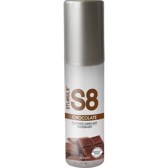 S8 LUBRICANTE SABORES 125ML - CHOCOLATE - Cosmética Erótica con sabores - Sex Shop ARTICULOS EROTICOS